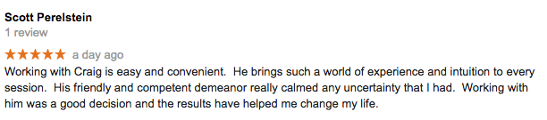 Flagstaff Hypnotherapy - Google Review